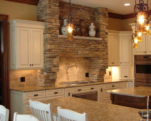 traditional kitchen idea in cleveland