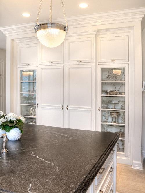 Honed Virginia Mist Granite Ideas, Pictures, Remodel and Decor