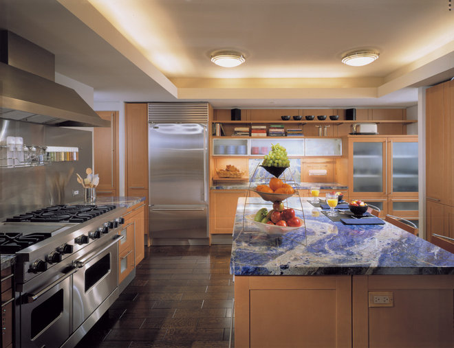 Contemporary Kitchen by Powell/Kleinschmidt, Inc.