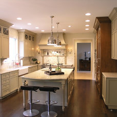 Eclectic Kitchen by Kinsley Design Group