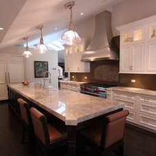 Traditional Kitchen by Lisa Wolfe Design, Ltd