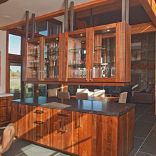 Craftsman Dining Room by Norman Building & Design