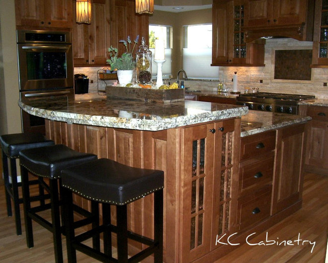 Traditional Kitchen by KC Cabinetry Design | Renovation