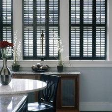 Contemporary Kitchen by Weatherwell Elite - Aluminum Shutters