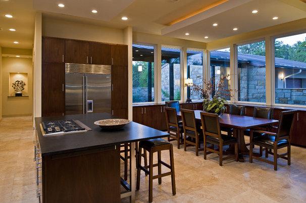Contemporary Kitchen by Bella Villa Design Studio
