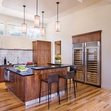 Contemporary Kitchen by Shoberg Custom Homes