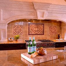 Mediterranean Kitchen by AVID Associates LLC
