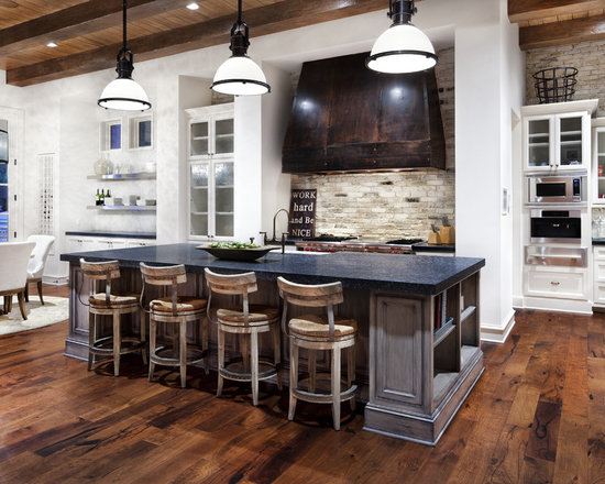 Kitchen Backsplash Stone stone kitchen backsplash | houzz
