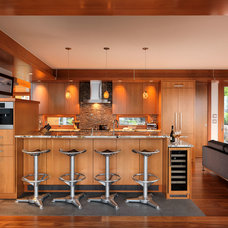 Contemporary Kitchen by Mike Knight Construction