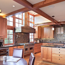 craftsman kitchen by WA design