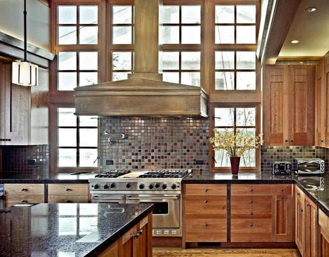 Craftsman Kitchen by WA design