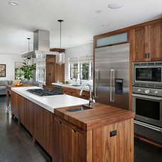 Contemporary Kitchen by Allwood Construction Inc