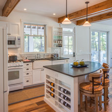 Farmhouse Kitchen by John Cole Architect