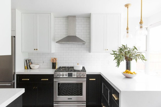 Transitional Kitchen by Studio McGee
