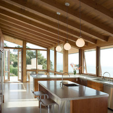Rustic Kitchen by Sutton Suzuki Architects