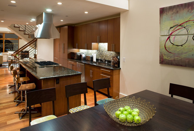 Contemporary Kitchen by Kimball Starr Interior Design