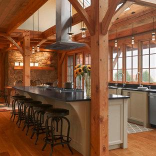 Idéer för ett rustikt kök