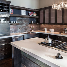 Contemporary Kitchen by Jordan Iverson Signature Homes