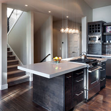 rustic kitchen by Jordan Iverson Signature Homes