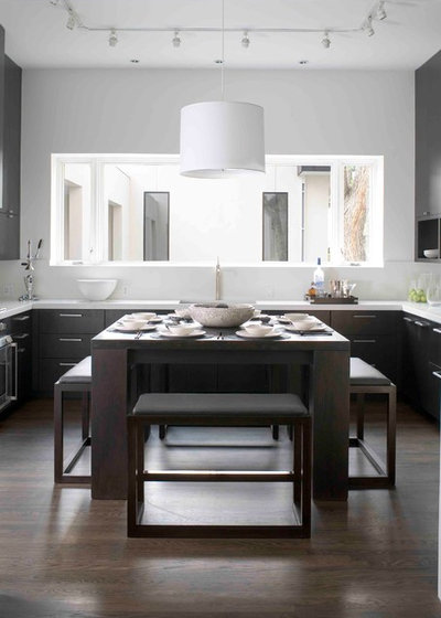 Beautiful Contemporary Kitchen by Nest Architectural Design Inc