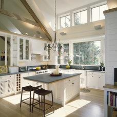 Contemporary Kitchen by Interiors Studio Martha's Vineyard