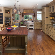Traditional Kitchen by Miller + Miller Real Estate