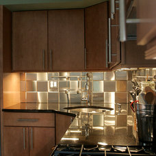 Modern Kitchen by Ahearn Cabinetry Designs, LLC