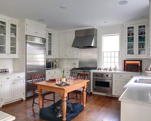 wainscot backsplash houzz