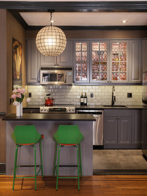 Inspiration For A Traditional Kitchen In Philadelphia With A Submerged  Sink, Glass Front Cabinets Part 88