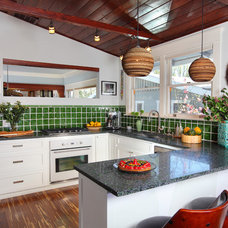 Eclectic Kitchen by Sarah Barnard Design