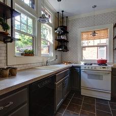 Industrial Kitchen by Align Design LLC