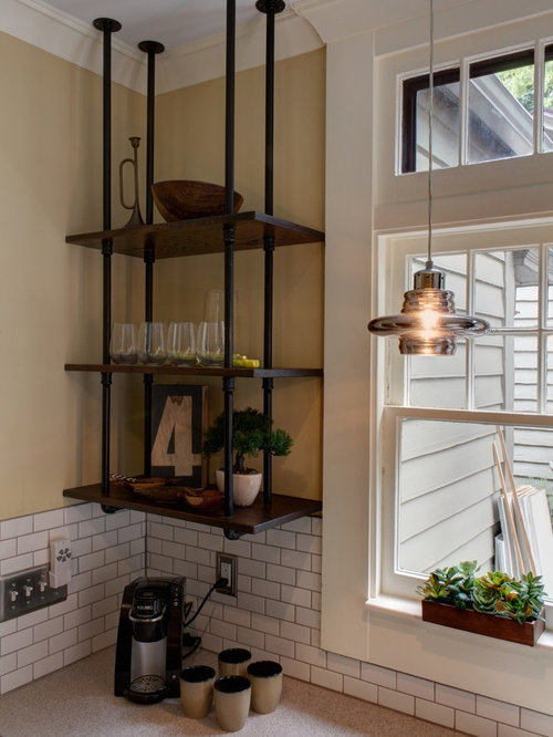 Ceiling Mounted Shelves | Houzz