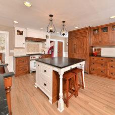 Farmhouse Kitchen by Schlabach Wood Design