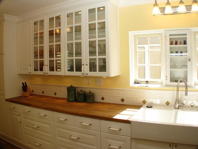 Kitchen by Homework Remodels ~ Tri-Lite Builders