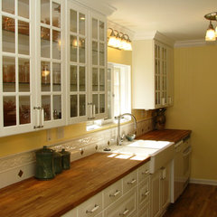 kitchen by Homework Remodels ~ Tri-Lite Builders