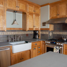 Craftsman Kitchen by Mercury Mosaics and Tile