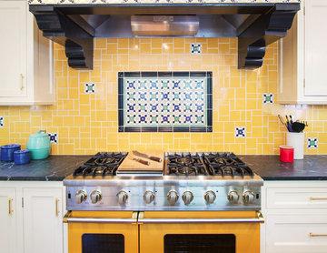 Historic Pasadena period Original kitchen vent spanish style