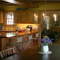 Farmhouse Kitchen by The McKernon Group