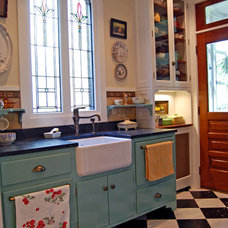 Farmhouse Kitchen by Greene & Proppe Design, Inc