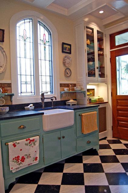 Farmhouse Kitchen by Greene & Proppe Design, Inc