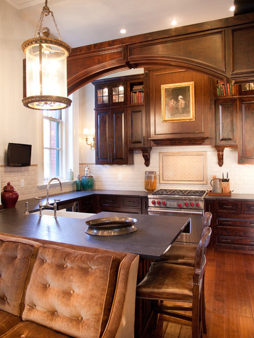Small Elegant Kitchen Home Design Ideas, Pictures, Remodel