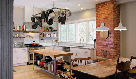 New This Week: 4 Kitchens That Embrace Openness and Raw Materials