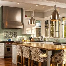 Craftsman Kitchen by Renewal Design-Build