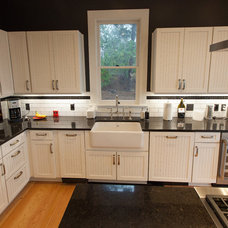 Traditional Kitchen by Idler's Cabinetry and Design