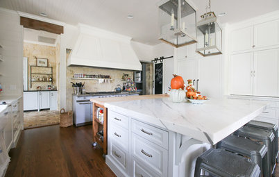 My Houzz: Historic Textures Meet Modern Touches in Texas Hill Country