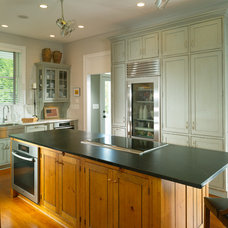 Traditional Kitchen by RAO Design Studio, Inc.