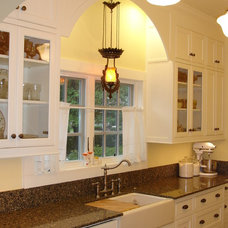 Traditional Kitchen by Living Quarters