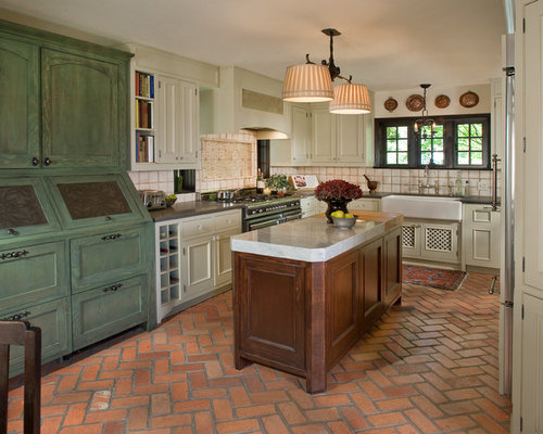 Antique Green Cabinets Design Ideas Remodel Pictures Houzz