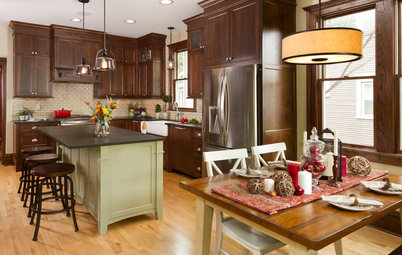 Room of the Day: A Period-Appropriate Kitchen for a Tricky Style