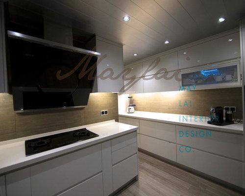 Countertop Dishwasher Hong Kong : Hong Kong Kitchen with Solid Surface Countertops Design Ideas ...